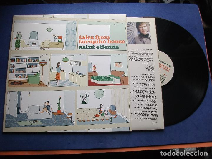 SAINT ETIENNE TALES FROM TURNPIKE HOUSE LP UK 2005 PEPETO TOP (Música - Discos - LP Vinilo - Pop - Rock Extranjero de los 90 a la actualidad)