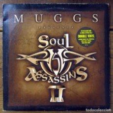 Discos de vinilo: MUGGS PRESENTS SOUL ASSASSINS II -2000 - DOBLE -. Lote 121813286