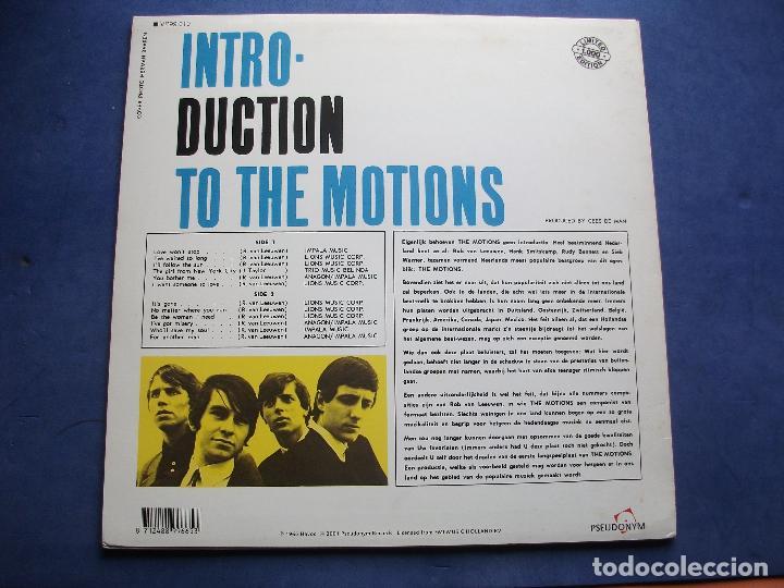 Discos de vinilo: THE MOTIONS INTRODUCTION THE MOTIONS LP HOLANDA 2001 PEPETO TOP - Foto 2 - 103205495