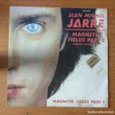 Discos de vinilo: JEAN MICHEL JARRE: MAGNETIC FIELDS PART 2 (CANTOS MAGNÉTICOS) / MAGNETIC FIELDS PART 1. Lote 103207743