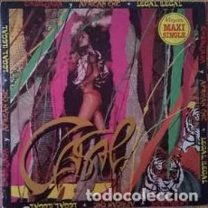 Discos de vinilo: TINO CASAL MAXI SINGLE: EMBRUJADA, AFRICAN CHIC + LEGAL, ILEGAL. Lote 103209919