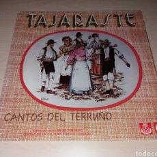 Discos de vinilo: TAJARASTE - CANTOS DEL TERRUÑO. Lote 103213902