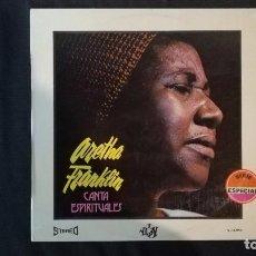 Discos de vinilo: ARETHA FRANKLIN-CANTA ESPIRITUALES. Lote 103215039