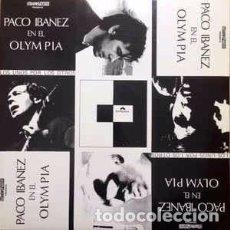 Discos de vinilo: PACO IBAÑEZ EN EL OLYMPIA - LP VINILO. Lote 103217711