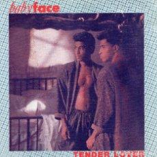 Discos de vinilo: BABYFACE - SINGLE PROMO 1989.. Lote 103218583
