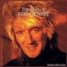 Discos de vinilo: ROD STEWART - THE BEST - LP VINILO. Lote 103220247
