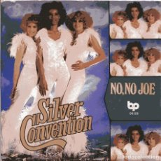 Discos de vinilo: SILVER CONVENTION / NO, NO JOSE + 1 (SINGLE 1977) NUEVO SIN PONER. Lote 103222119