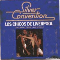 Discos de vinilo: SILVER CONVENTION / LOS CHICOS DE LIVERPOOL (BEATLES) + 1 (SINGLE 1977) NUEVO SIN PONER. Lote 103222239