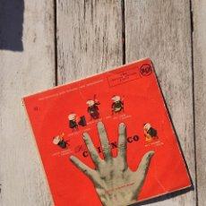 Discos de vinilo: LOS CINCO - SILBANDO AL TRABAJAR + 3 (RCA – 3-20119 7'', EP) . Lote 103223671