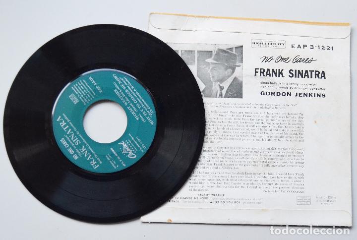 Discos de vinilo: FRANK SINATRA - NO ONE CARES - STORMY WEATHER - ORQUESTA GORDON JENKINS - CAPITOL RECORDS - Foto 2 - 103225179