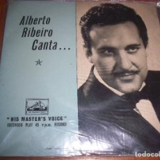 Discos de vinilo: ALBERTO RIBEIRO CANTA. FADO HILARIO + 3 . EDICION EMI. FADO.. Lote 103230535