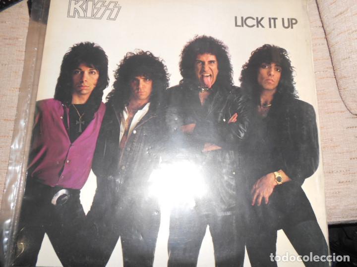 KISS LICK IT UP (Música - Discos - Singles Vinilo - Heavy - Metal)
