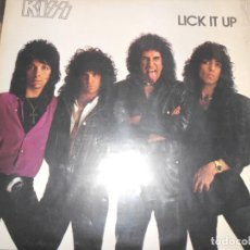 Discos de vinilo: KISS LICK IT UP. Lote 103232683