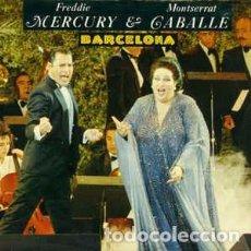 Discos de vinilo: FREDDIE MERCURY Y MONTSERRAT CABALLÉ - BARCELONA - MAXI-SINGLE 1987 . Lote 103869592