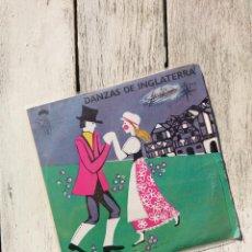 Discos de vinilo: DANZAS DE INGLATERRA - RITMOS Y DANZAS /ALS 4 VENTS, E.306 7'', EP 1970). Lote 103233723
