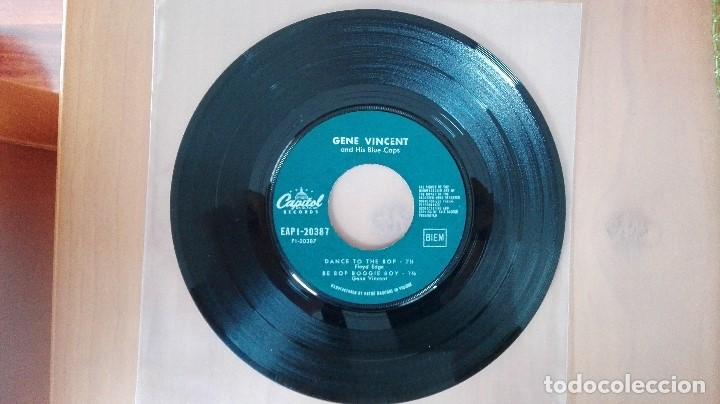 Discos de vinilo: GENE VINCENT 1ª EDIC FRANCESA 1961 EAP 1-20387 PERF CONSERVACION NM- EDDIE COCHRAN ELVIS BUDDY HOLLY - Foto 3 - 103245079