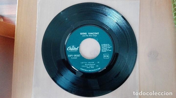 Discos de vinilo: GENE VINCENT 1ª EDIC FRANCESA 1961 EAP 1-20387 PERF CONSERVACION NM- EDDIE COCHRAN ELVIS BUDDY HOLLY - Foto 5 - 103245079