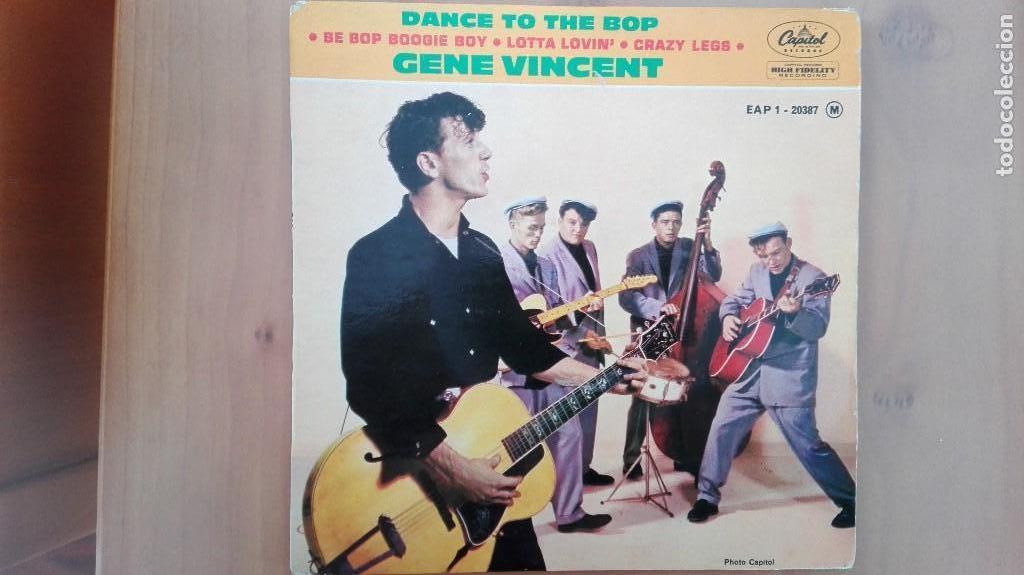 GENE VINCENT 1ª EDIC FRANCESA 1961 EAP 1-20387 PERF CONSERVACION NM- EDDIE COCHRAN ELVIS BUDDY HOLLY (Música - Discos de Vinilo - EPs - Rock & Roll)