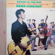 Discos de vinilo: GENE VINCENT 1ª EDIC FRANCESA 1961 EAP 1-20387 PERF CONSERVACION NM- EDDIE COCHRAN ELVIS BUDDY HOLLY. Lote 103245079