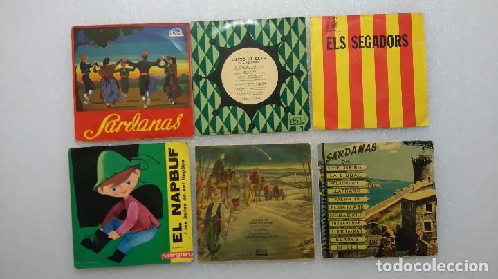 LOTE VINILOS SENCILLOS EN CATALÁN ELS SEGADORS SARDANAS (Música - Discos - Singles Vinilo - Otros estilos)