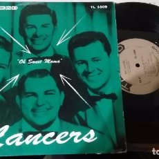 Discos de vinilo: THE LANCERS LP 10'' OH SWEET MAMÁ.U.S.A.. Lote 103247635