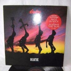 Discos de vinilo: THE STRANGLERS - DREAMTIME 1986 !! PUNK ROCK, RARA COMPLETA 1ª EDIC ORG UK + ENCARTE, TODO EXC. Lote 103247651
