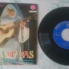 Discos de vinilo: SOR CAMPANAS: CAMINAR DE DÍA + 3 (DISCOTECA PAX 1965). Lote 103252003