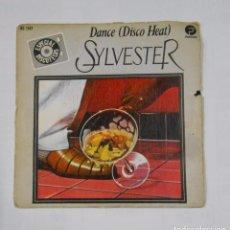Discos de vinilo: SYLVESTER. DANCE DISCO HEAT. HISPAVOX. TDKDS9. Lote 103257431