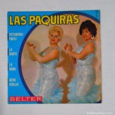 Discos de vinilo: LAS PAQUIRAS. PETENERAS TWIST. LA GENTE. LA HORA. OCHO PERLAS. TDKDS9. Lote 103273195