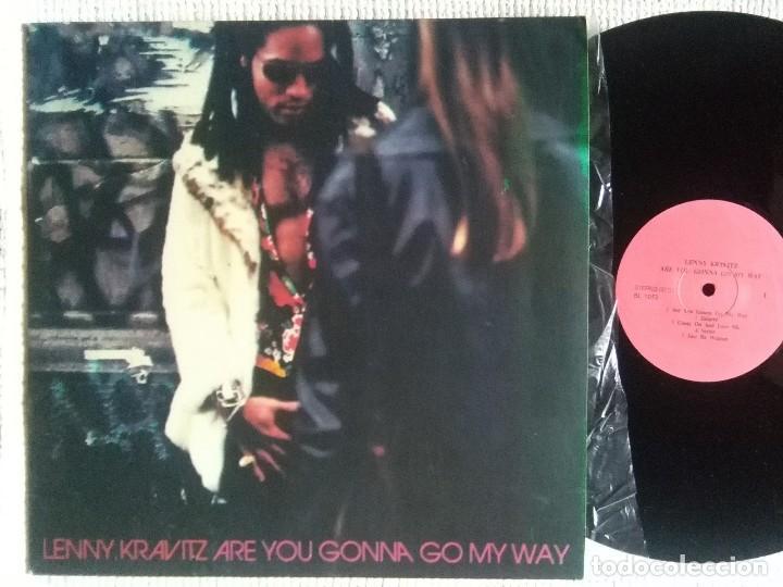 LENNY KRAVITZ - '' ARE YOU GONNA GO MY WAY '' LP UNOFFICIAL (Música - Discos - LP Vinilo - Pop - Rock Internacional de los 90 a la actualidad)