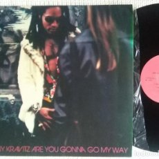 Discos de vinilo: LENNY KRAVITZ - '' ARE YOU GONNA GO MY WAY '' LP UNOFFICIAL. Lote 103281963