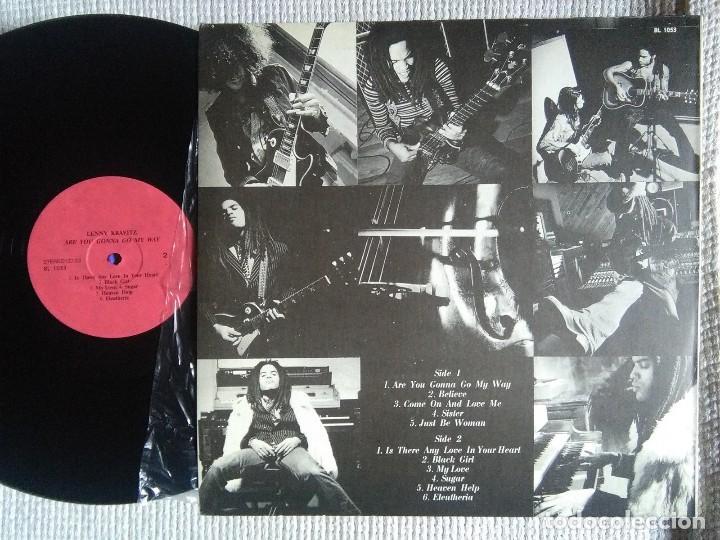 Discos de vinilo: LENNY KRAVITZ - ARE YOU GONNA GO MY WAY LP UNOFFICIAL - Foto 2 - 103281963