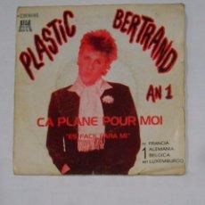 Discos de vinilo: PLASTIC BERTRAND AN 1. CA PLANE POUR MOI. ES FACIL PARA MI. TDKDS9. Lote 103287831