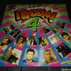 Discos de vinilo: LP BOOM 4- DOBLE LP RECOPILATORIO- EMI 1988 ESPAÑA 5. Lote 103292235