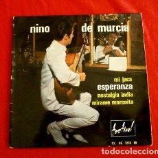 Discos de vinilo: NINO DE MURCIA (EP. AÑOS 60 EDITADO EN FRANCIA) MI JACA - ESPERANZA - NOSTALGIA INDIA - MIRAME. Lote 103300803
