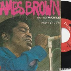Discos de vinilo: JAMES BROWN - MUNDO (SINGLE POLYDOR 1969 ESPAÑA). Lote 103307519