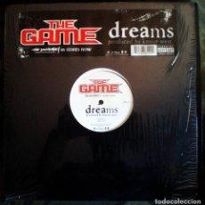 Discos de vinilo: THE GAME – DREAMS G UNIT 2005 HIP HOP ACAPELLA. Lote 103314915