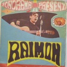 Discos de vinilo: RAIMON. Lote 103301447