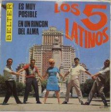 Discos de vinilo: LOS 5 LATINOS. Lote 103301451