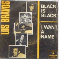 Discos de vinilo: LOS BRAVOS - BLACK IS BLACK. Lote 103301455