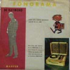 Discos de vinilo: DE RAYMOND. Lote 103301475