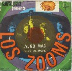 Discos de vinilo: LOS ZOOMS. Lote 103301596