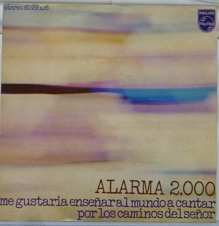 ALARMA 2000 (Música - Discos - Singles Vinilo - Grupos Españoles 50 y 60)