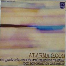 Discos de vinilo: ALARMA 2000. Lote 103301648