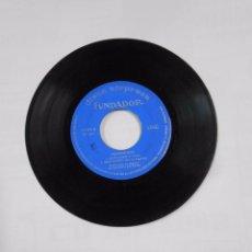 Discos de vinilo: DISCO SORPRESA FUNDADOR - Nº 10099. PASODOBLES. MARCIAL ERES EL MAS GRANDE. PEPITA GREUS. TDKDS9. Lote 103323215