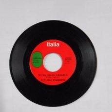 Discos de vinilo: ITALIA. SAN REMO 1964. NON HO L'ETA. GIGLIOLA CINQUETTI. SEI UN BRAVO RAGAZZO. TDKDS9. Lote 103323447