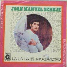 Discos de vinilo: JOAN MANUEL SERRAT - LA LA LA. Lote 103301479