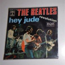 Discos de vinilo: THE BEATLES - HEY JUDE / REVOLUTION. Lote 103328695