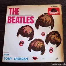 Discos de vinilo: THE BEATLES - MY BONNIE + 3 CANCIONES - EP - 1964. Lote 103331987