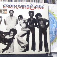 Discos de vinilo: EARTH, WIND & FIRE - THAT'S THE WAY OF THE WORLD LP RE 1980. Lote 103332331